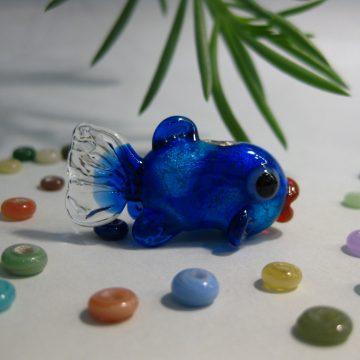 「銀箔を使った魚」ワークショップ