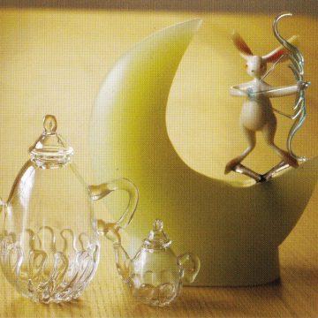 藤吉真理・高取崇子ガラス作品展