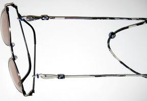 とんぼ玉眼鏡ホルダー