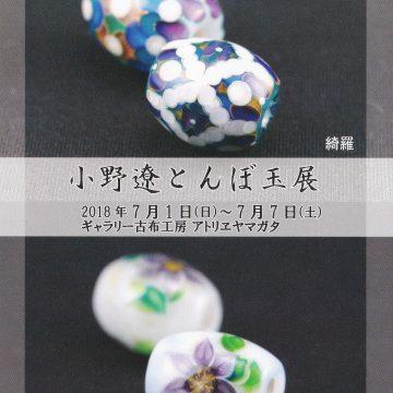 小野遼とんぼ玉展